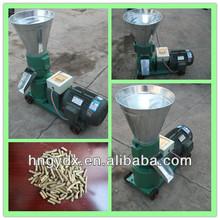 Homemade animal feed wood pellet briquette making machine
