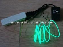 5v usb flash el wire inverter,lime el wire