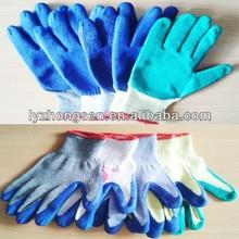 Pesanti guanti da lavoro 7g, 10g, 13g, 15g lavoro a maglia del guanto
