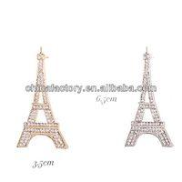 BR3041 Stock Popular Cheapest Eiffel Tower Brooch Pin