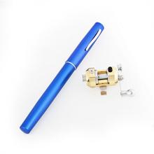 JT5-A Pen FishingRod With Blue Color + Fishing reel