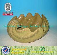 Decorative Conch Shell Planter Garden Ornament