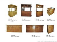 Good Teak solid wood counter bar from Thailand