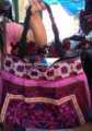 sac de broderie thai tribu hmong