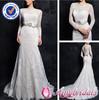 SA4267 New design long sleeves muslim bridal wedding dress