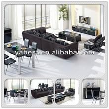 formal black elegant living room furniture sets 217
