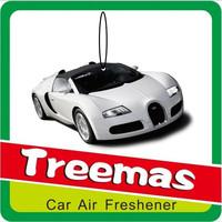 2015 new designs car fragrance paper air freshener J198