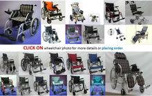 Wheelchair to Perlis, Kedah, Penang, Perak, Selangor, Kuala Lumpur, Kelantan, Terengganu, Pahang, Negeri Sembilan, Melaka, Johor