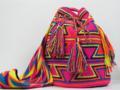 Cor de rosa Wayuu saco