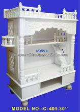 marble wooden temple,altar,mandir