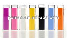 2013 Hot Portable Travel 2200mah external battery power stick for mobile phone
