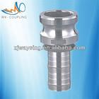 camlock reducing adapters aluminum ER200