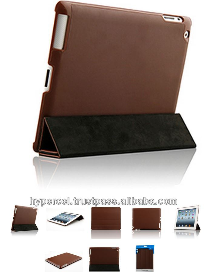 Naztech Slim Case with Smart Cover for iPad 2nd, 3rd and 4th Gen - Dark Brown