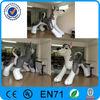advertising inflatable husky cartoon , inflatable dog
