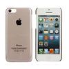 Smoke Hard Transparent Blank Sublimation case for iphone 5c