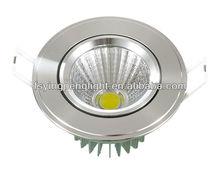 Hot sales cob led ressed downlight YPL05601 5W