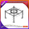 Hot selling round roof truss system for wedding