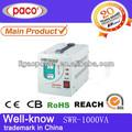 Types de relais automatique régulateur de tension à domicile 1kva/1000watt stabilisateur de tension ou ei transformateur toroïdal