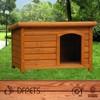 Custom Indoor Wooden Dog Kennel DFD3007