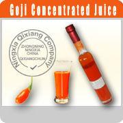 Bacche di goji juice concentrates