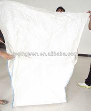 PP big bag with bridge lfting belt double warp fabric,high UV treated