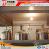 Electric Heating Brew Kettle, Jacketed Fermenter, 300L Mini Brewery Equipment