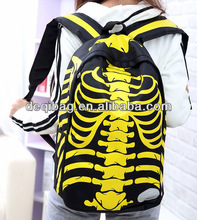 Backpack Cool Girls and Boys Personalized Backpacks Skull Fashion School Bag School College Bag Big HOT