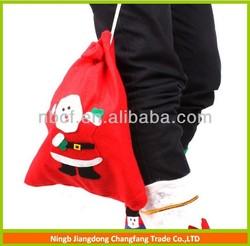 OEM laminated non woven Christmas gift bag