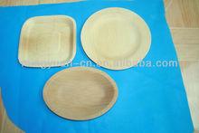 fornitura a buon mercato bambù piatti usa e getta