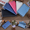 for htc one m7 double dip flip stand case,leather case cover for htc one m7