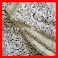 Luxury Sherpa Bonded Brushed PV Fleece Blanket