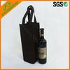cheap 1 wine bottle holder tote
