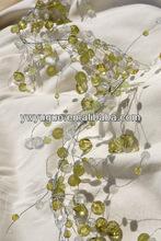DIY Handmade wedding decor garland