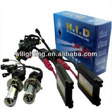 55w h4 bi xenon hid kits with high quality hid conversion kit 6000k H4 hi/lo