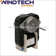 shade-pole motor for fan heater