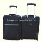 Hot promotion EVA soft luggage wheeled trolley suitcase