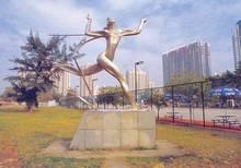 Modern Best sold Abstract Stainless steel Sculpture for garden decoration