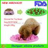 2014 New Arrival custom plastic dog bowl