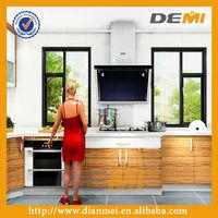 design modern melamina cabinet made in china for kitchen furniture