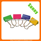 "Sunny Stationery Colored 19mm(3/4"") Binder Clips"