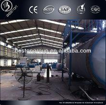 Per inida rifiuti di pirolisi di pneumatici della macchina con alta qualità e 6-20 tonnellate al giorno
