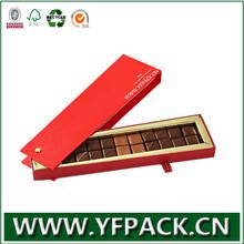 cardboard packaging for chocolate bar box
