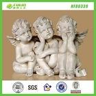 Sitting Statues Babies Decor Resin Angel Souvenir