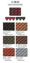 Manufacturer of hexagonal asphalt shingle