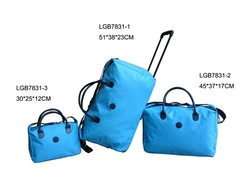 EVA Collapsible Fashion and Simple Travel Luggage Bags Sets