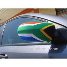 South Africa rear mirror cover/ side mirror flag/ car mirror cover