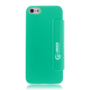 mobile flip cover smart cover case for iphone 5 (PC+senior PU leather)