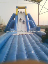cheap inflatable water hippo slides