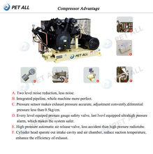 blow molding machine high pressure air compressor