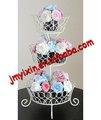 Fil de fer est gâteau de mariage gâteaux./ménage. cup cake affichage rack pour la fête d'anniversaire